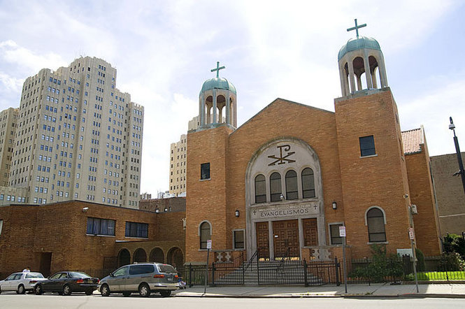 Evangelismos Greek Orthodox Church in Jersey City, NJ
